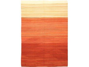 Kelim Fars Design Teppich Orientteppich 330x233 cm Handgewebt Klassisch