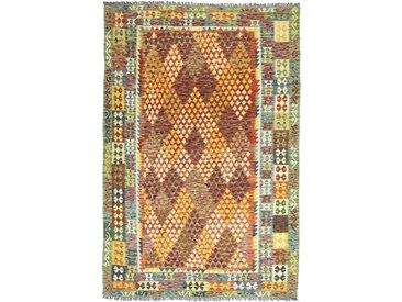 Kelim Afghan Heritage Teppich Orientteppich 309x210 cm Handgewebt Design Modern
