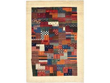 Perser Gabbeh Loribaft Teppich Orientteppich 246x174 cm Handgeknüpft Modern