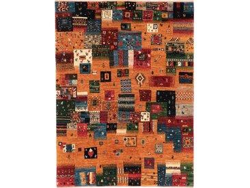 Gabbeh Loribaft Nowbaft Teppich Orientteppich 159x119 cm Handgeknüpft Modern