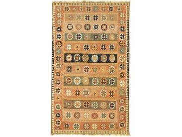 Kelim Fars Old Style Teppich Persischer Teppich 262x156 cm Handgewebt Klassisch