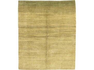 Perser Gabbeh Loribaft Design Teppich Persischer Teppich 238x194 cm Handgeknüpft Design Modern