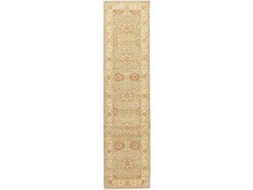 Ziegler Farahan Teppich Orientalischer Teppich 364x89 cm, Läufer, Pakistan Handgeknüpft Klassisch