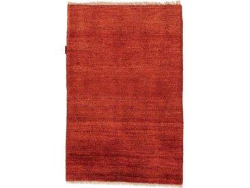 Perser Gabbeh Teppich Perserteppich 111x75 cm Handgeknüpft Modern