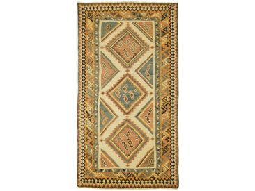Kelim Fars Old Style Teppich Orientalischer Teppich 282x153 cm, Läufer Handgewebt Klassisch