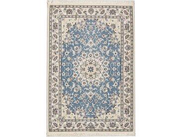 Nain 9La Signiert Teppich Persischer Teppich 121x81 cm Handgeknüpft Klassisch