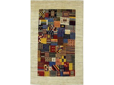 Perser Gabbeh Loribaft Teppich Orientalischer Teppich 231x141 cm Handgeknüpft Modern