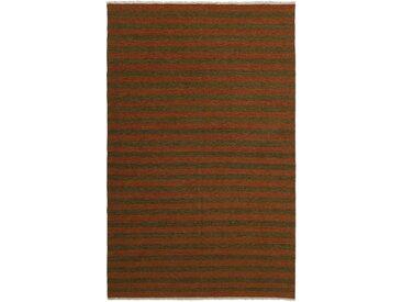 Kelim Fars Teppich Perserteppich 308x199 cm Handgewebt Klassisch