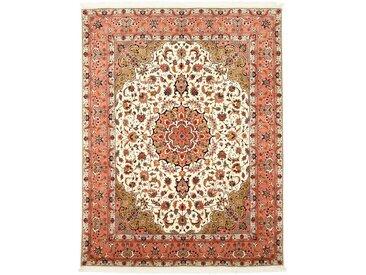 Täbriz 50Raj  Teppich Orientteppich 259x202 cm Handgeknüpft Klassisch