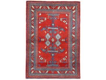 Perser Gabbeh Kashkuli Teppich Persischer Teppich 167x117 cm Handgeknüpft Modern