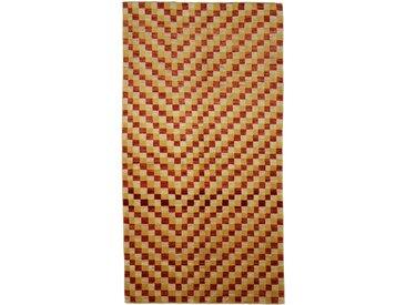 Ziegler Gabbeh Teppich Orientteppich 238x127 cm, Läufer, Pakistan Handgeknüpft Modern