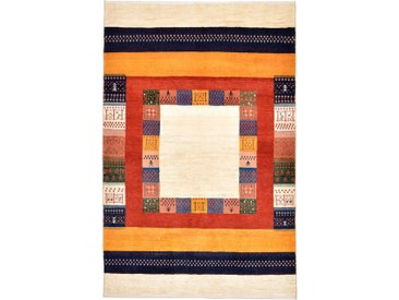 Perser Gabbeh Loribaft Teppich Persischer Teppich 187x123 cm Handgeknüpft Modern