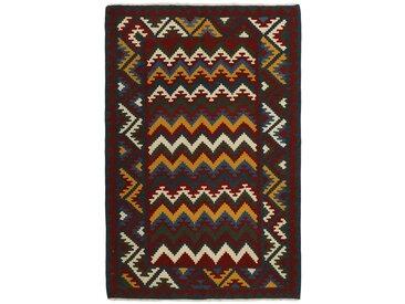 Kelim Fars Teppich Orientteppich 241x161 cm Handgewebt Klassisch