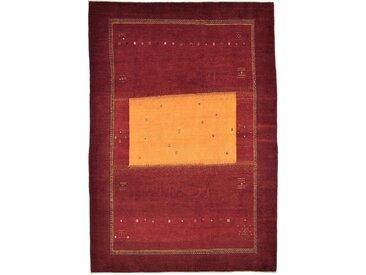 Perser Gabbeh Loribaft Teppich Perserteppich 301x207 cm Handgeknüpft Modern