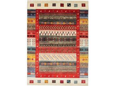 Gabbeh Loribaft Teppich Orientteppich 236x168 cm, Indien Handgeknüpft Modern