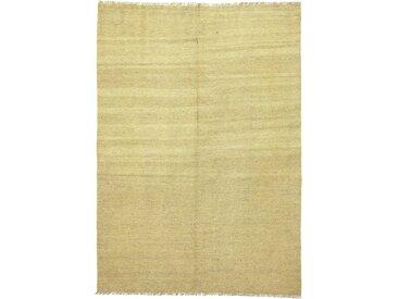 Kelim Fars Teppich Persischer Teppich 207x146 cm Handgewebt Klassisch