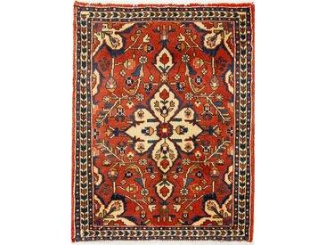 Hosseinabad Teppich Perserteppich 83x63 cm Handgeknüpft Klassisch