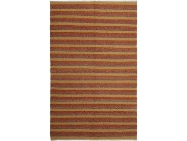 Kelim Fars Teppich Perserteppich 306x196 cm Handgewebt Klassisch