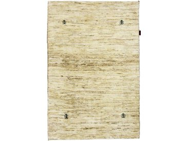 Perser Gabbeh Natural Teppich Orientalischer Teppich 147x97 cm Handgeknüpft Modern