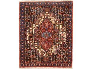 Kordi Teppich Orientalischer Teppich 94x77 cm Handgeknüpft Klassisch