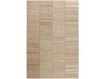 Kelim Patchwork Teppich Orientteppich 323x219 cm Handgewebt Klassisch