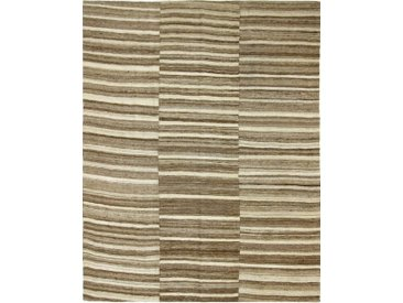 Kelim Fars Mazandaran Teppich Orientalischer Teppich 255x202 cm Handgewebt Klassisch