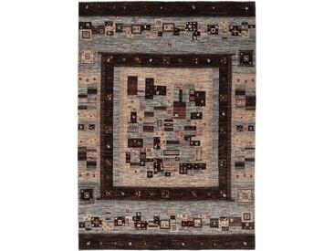 Gabbeh Loribaft Nowbaft Teppich Persischer Teppich 246x177 cm Handgeknüpft Modern