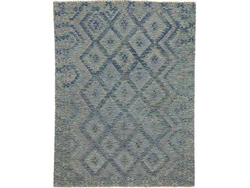 Kelim Afghan Heritage Teppich Orientteppich 227x172 cm Handgewebt Design Modern