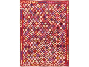 Kelim Afghan Heritage Teppich Orientalischer Teppich 240x178 cm Handgewebt Design Modern