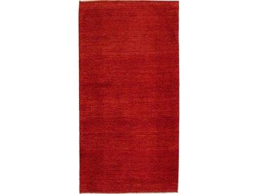 Perser Gabbeh Kashkuli Teppich Perserteppich 201x104 cm, Läufer Handgeknüpft Modern