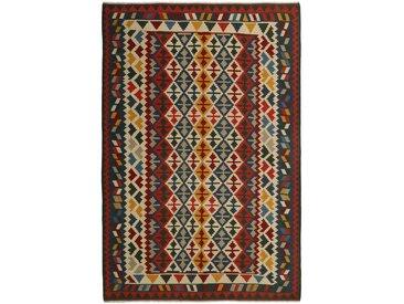 Kelim Fars Teppich Orientalischer Teppich 303x206 cm Handgewebt Klassisch