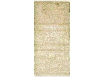 Sadraa Teppich Orientalischer Teppich 147x70 cm, Läufer, Indien Handgeknüpft Design Modern