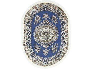 Nain 9La Teppich Orientteppich 167x117 cm, Oval Handgeknüpft Klassisch