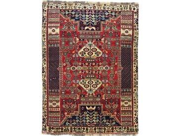 Ghashghai Teppich Persischer Teppich 145x109 cm Handgeknüpft Klassisch