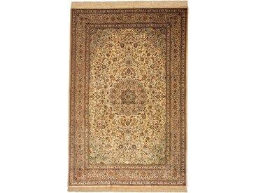 Ghom Seide  Teppich Persischer Teppich 199x131 cm Handgeknüpft Klassisch