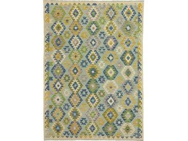Kelim Afghan Heritage Teppich Orientteppich 232x166 cm Handgewebt Design Modern