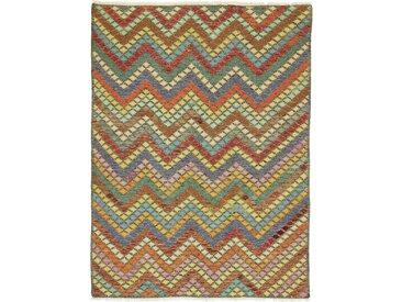 Kelim Afghan Heritage Teppich Orientalischer Teppich 249x182 cm Handgewebt Design Modern