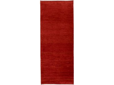 Perser Gabbeh Kashkuli Teppich Persischer Teppich 199x77 cm, Läufer Handgeknüpft Modern