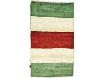 Gabbeh Teppich Orientalischer Teppich 124x74 cm Handgeknüpft Modern