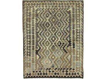 Kelim Afghan Heritage Teppich Orientteppich 194x150 cm Handgewebt Design Modern