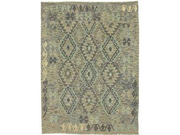 Kelim Afghan Heritage Teppich Orientteppich 170x128 cm Handgewebt Design Modern
