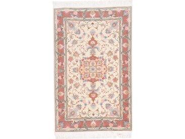 Täbriz 50Raj Teppich Orientalischer Teppich 120x75 cm Handgeknüpft Klassisch