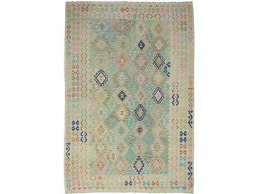 Kelim Afghan Heritage Teppich Orientalischer Teppich 288x200 cm Handgewebt Design Modern