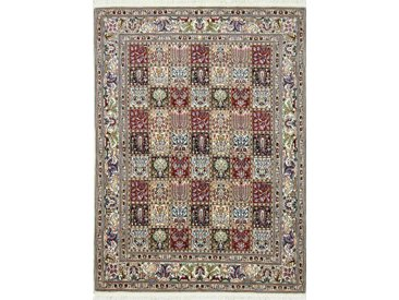 Moud Teppich Orientteppich 203x147 cm Handgeknüpft Klassisch