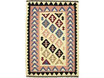 Kelim Fars Teppich Orientalischer Teppich 146x101 cm Handgewebt Klassisch