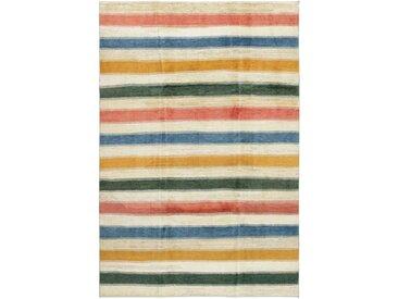 Perser Design Gabbeh Teppich Perserteppich 289x196 cm Handgeknüpft Design Modern