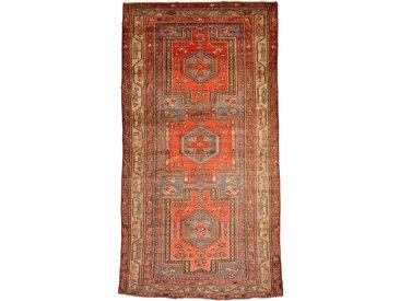 Russia Antik Teppich Orientalischer Teppich 232x133 cm Handgeknüpft Klassisch