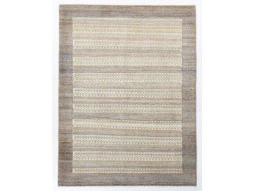 Perser Gabbeh Kashkuli Teppich Orientalischer Teppich 206x156 cm Handgeknüpft Modern