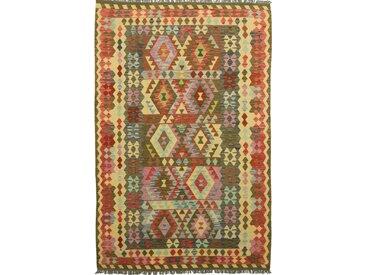Kelim Afghan Teppich Orientalischer Teppich 305x201 cm Handgewebt Klassisch