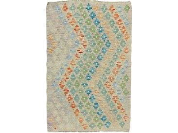 Kelim Afghan Heritage Teppich Orientteppich 120x78 cm Handgewebt Design Modern